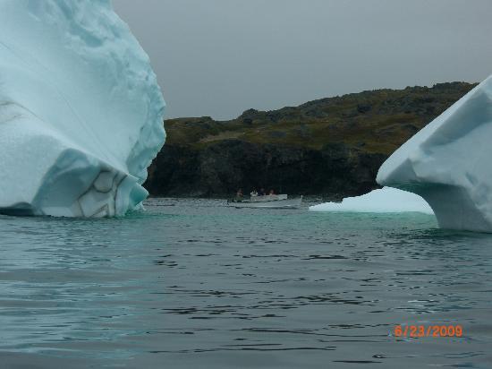 Carriage House Inn : Boat near Iceberg