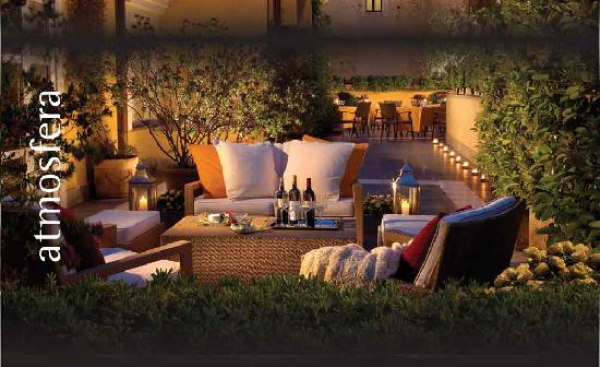 Capo d'Africa Hotel: Terrace
