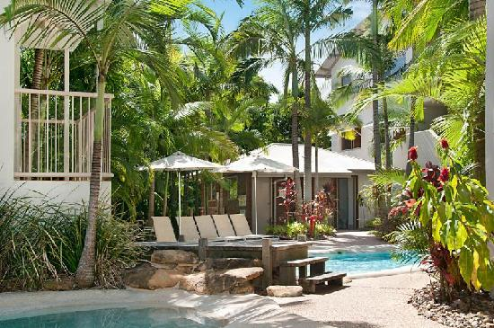 Offshore Noosa Resort: 3 heated pools surrounded by tropical gardens