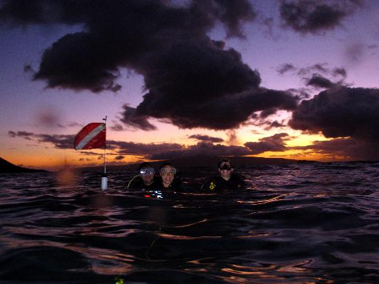 Can Do Dive Co.: Ending our sunset dive