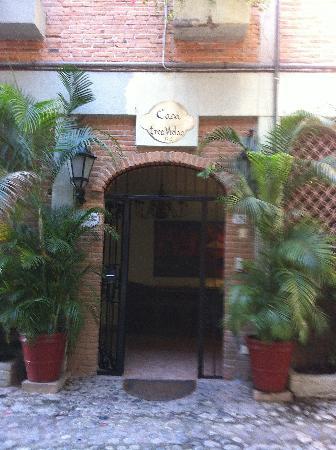 Casa Tres Vidas: Entrance