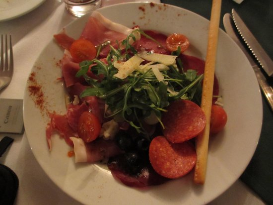 La Rosa Restaurant: cured meat