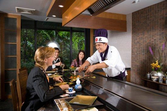 Kamon Japanese Restaurant & Steakhouse: Tepanyaki @ Kamon, Bangkok.