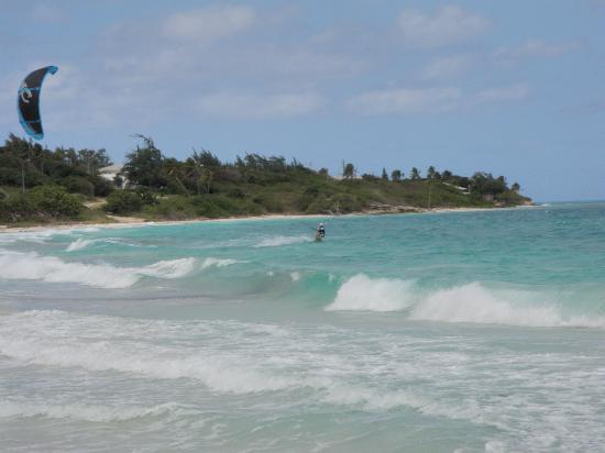 The Copper and Lumber Store Historic Inn: Kiteboarding in Antigua