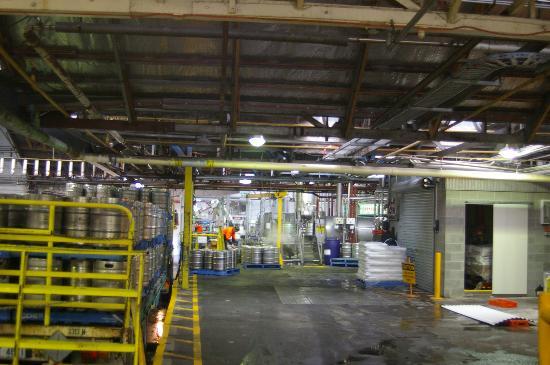 Cascade Brewery: Keg sterilisation and filling
