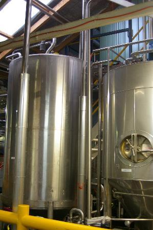 Cascade Brewery: Brewery equipment
