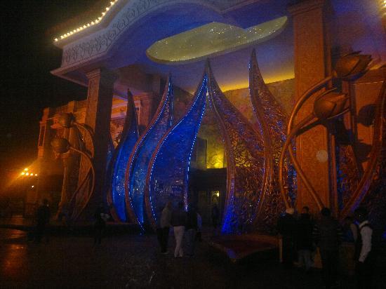 Gurgaon, India: The entrance.