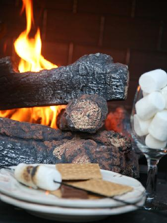 Victorian Mansion Bed & Breakfast : Make Smores at Carriage House in Your Private Courtyard!