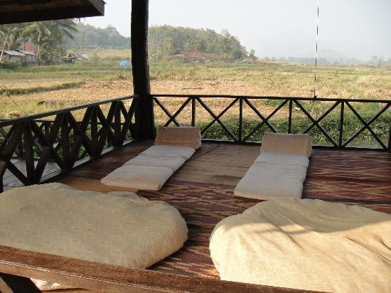 Santi Resort & Spa: Perfect place to meditate, take a nap, or have a massage