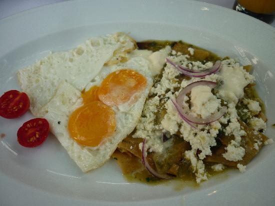 Casa Oaxaca: Chilaquiles
