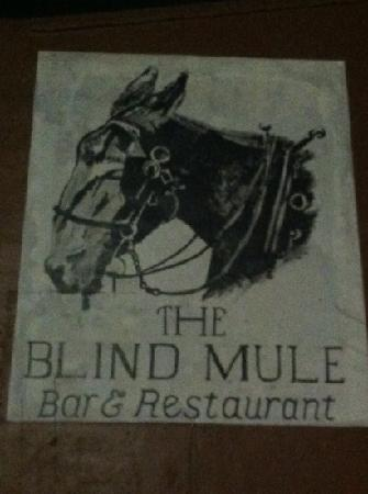 The Blind Mule Restaurant and Bar: The blind Mule