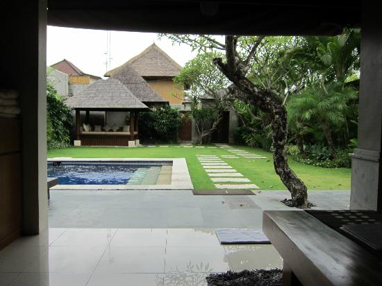 Serene Villas: Hibiscus garden, pool & sit-out