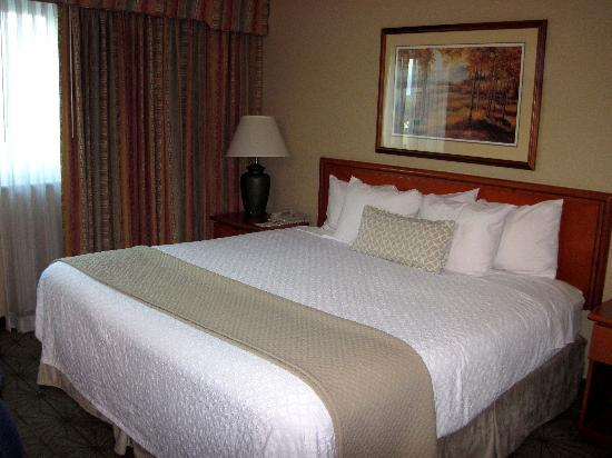Embassy Suites by Hilton Portland Airport: bedroom
