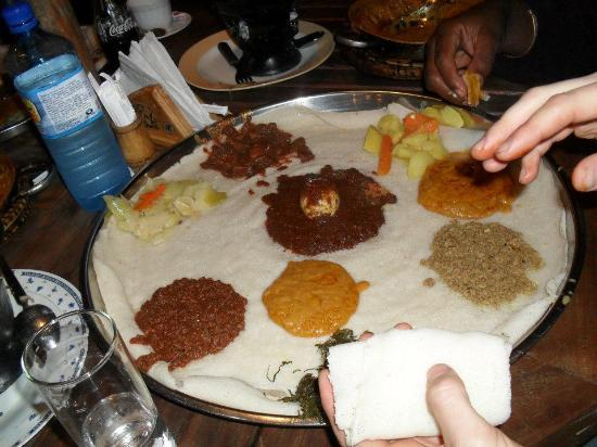 Habesha : Sharing dinner and  time with great friends, all in one place!