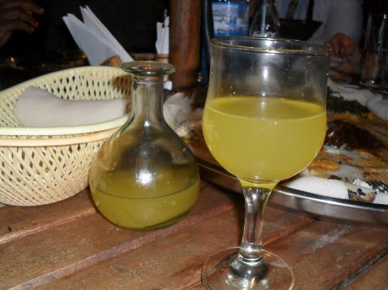 Habesha : Sweet drink after my delicious dinner!