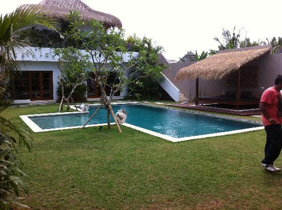 Villa chocolat: Pool