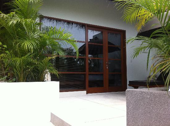 Villa chocolat: Entrance to master bedroom