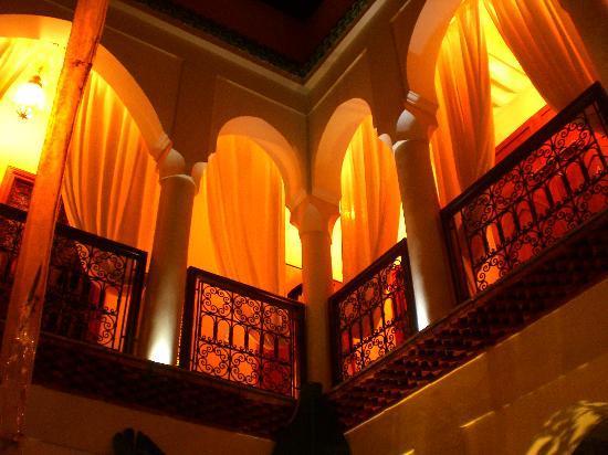 Riad Anais : Vue du patio