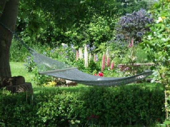 Mulsford Cottage B & B: Relax in the hammock!