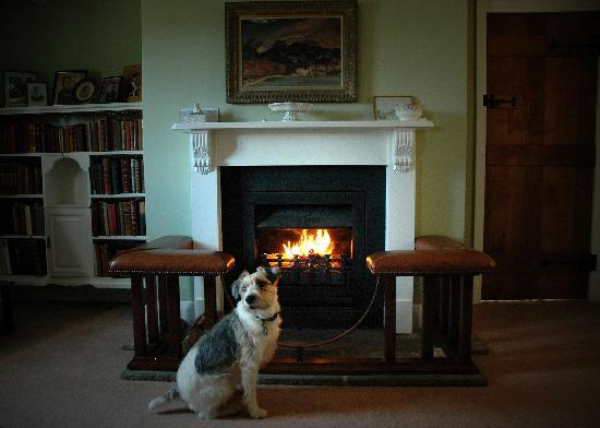 Mulsford Cottage B & B: A welcome fire