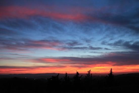 Antico Podere Marciano: il tramonto a Marciano