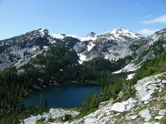 McAlester Pass-Rainbow Lake Loop Photo