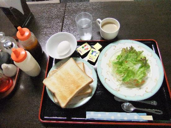 Asakusabashi Business Hotel: 朝食300円はそれなり
