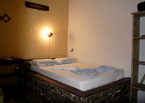 Pousada Cachoeira: cama de casal ,one double bed