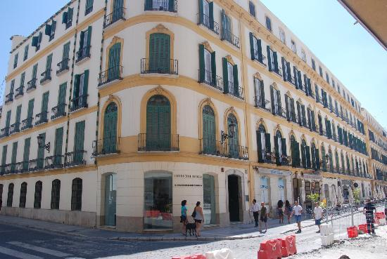 Museo Picasso Malaga: この建物の2階が生家