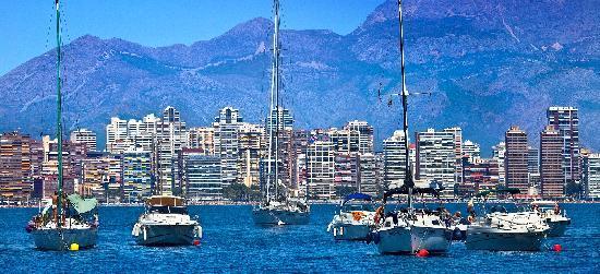 Benidorm, España: Barcos - Boats