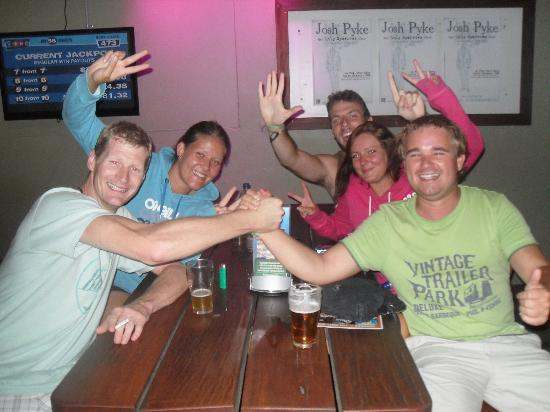 Hoey Moey Backpackers: Loving the Crab Master!