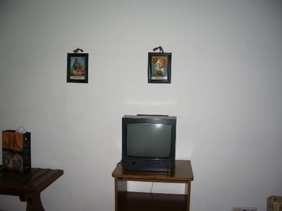 Hotel Berghof Graml: tv, old