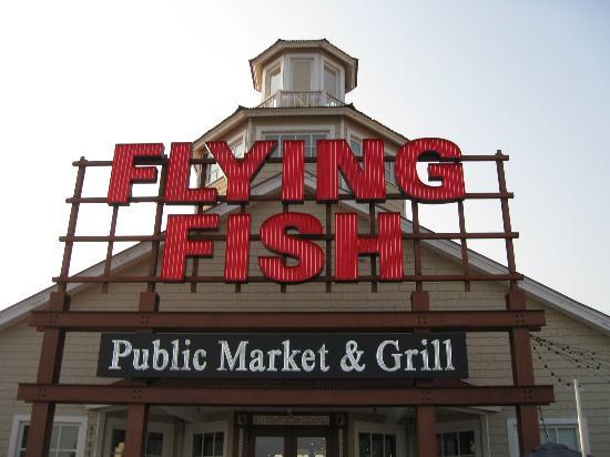 The Flying Fish Restaurant At Barefoot Landing Myrtle Beach