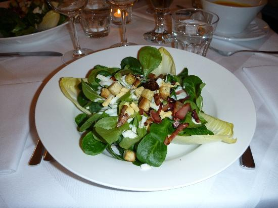 Hotel Krone Giswil: Der köstliche Salat!