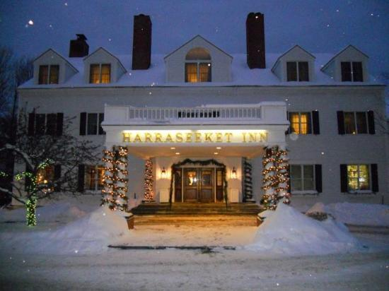 Harraseeket Inn: What a winter view!