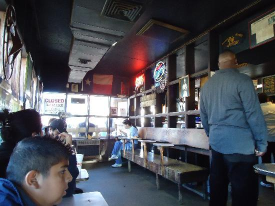 Sonny Bryans Smokehouse Throckmorton St: Crowded after Lunch hour