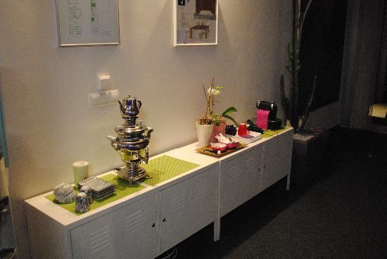 Hotel Schlafstadt : lounge room