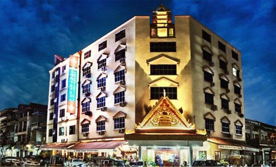 Angkor International Hotel night