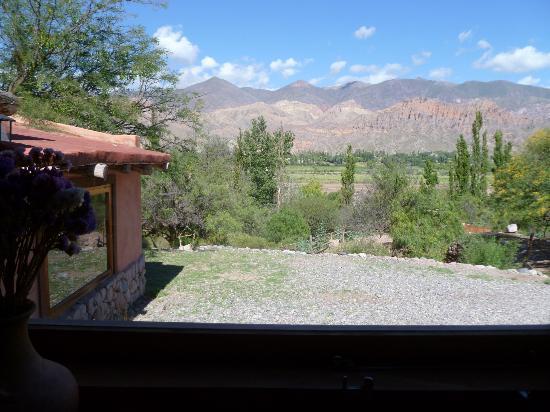 Cerro Chico : la vista desde la mesa del desayuno