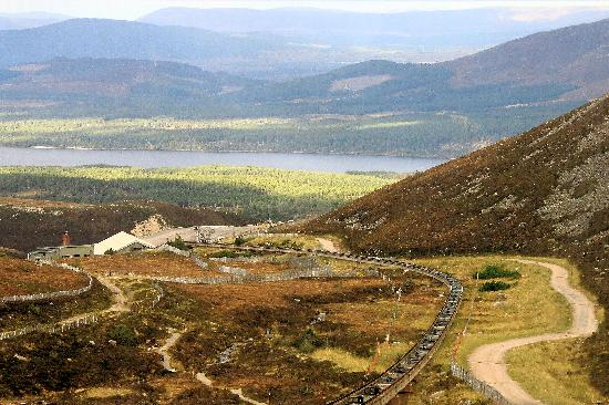 Cairngorms National Park: Further down the rail track