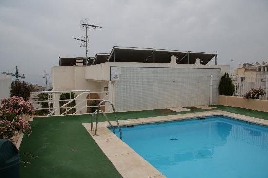 Marbella Inn: Roof top pool again - didn't really fancy it to be honest...
