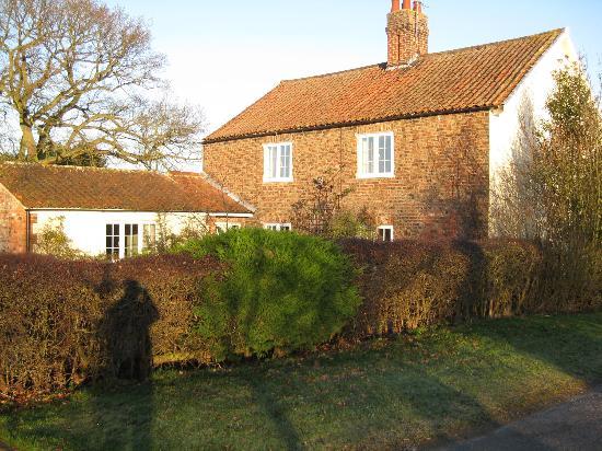 Claxton Hall Cottage B&B : claxton hall cottage