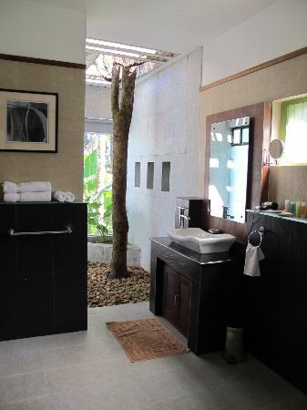 Aanavilasam Luxury Plantation House: Bathroom in Pool Villa