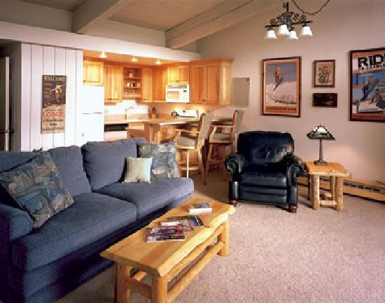 Storm Meadows Club Condominiums : Living Room