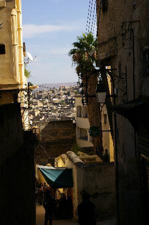 Riad Damia : Vue de Fes de la médina