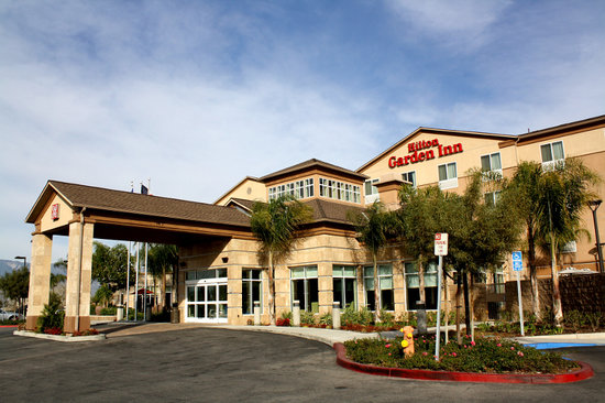 The newly built Hilton Garden Inn San Bernardino.