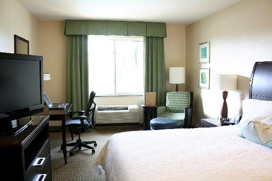 Hilton Garden Inn San Bernardino: Our spacious King bedroom.