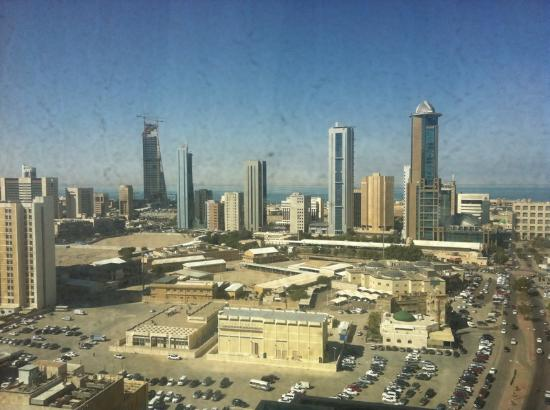 Courtyard Kuwait City: View from room 1408