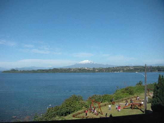 Hotel Cumbres Puerto Varas: Vista desde la habitación