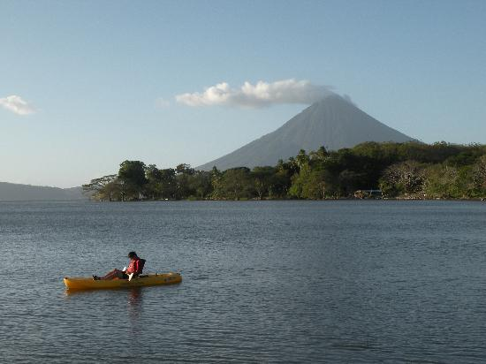Concepcion volcano from Hacienda Merida
